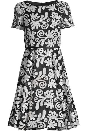 Shani Women's Novelty Fit-&-Flare Dress - - Size 14
