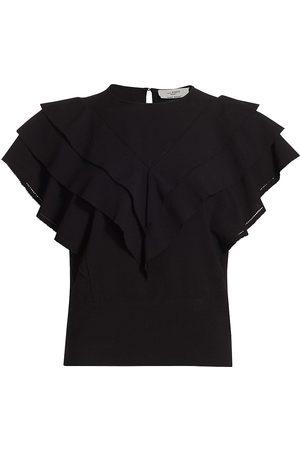 Isabel Marant Women's Heaven Ruffle Blouse - - Size 2