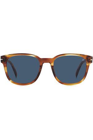 David beckham Men's 52MM Square Sunglasses - Horn