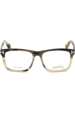 Tom Ford Men's Private 54MM Square Optical Glasses