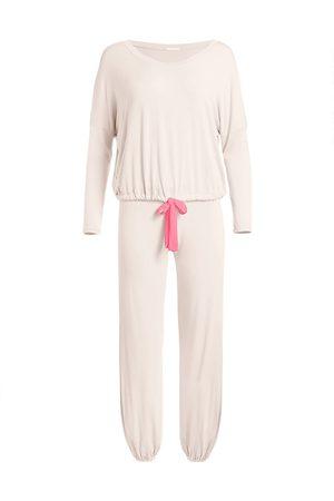 Eberjey Women's Gisele 2-Piece Slouchy Pajama Set - Bellini Bright - Size XL