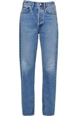 AGOLDE Women's '90s High-Rise Pinch-Waist Jeans - Navigate - Size 32