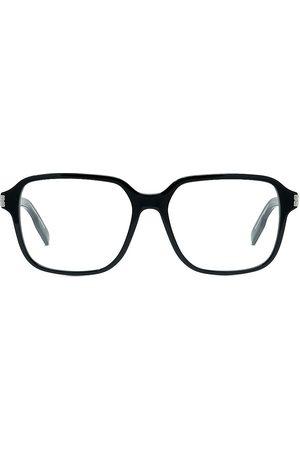 Dior Men's NeoO 56MM Square Eyeglasses - Shiny