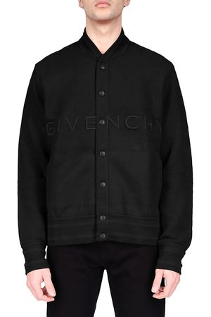 Givenchy Men's Knitted Bomber Jacket - - Size XL
