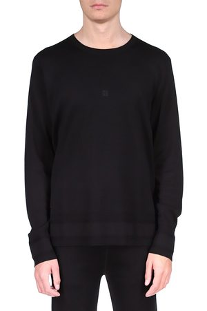 Givenchy Men's Small 4G Embroidery Crewneck Sweater - - Size Medium