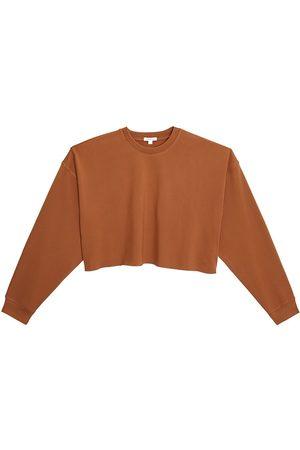 WeWoreWhat Women's Cropped Crewneck Sweatshirt - - Size Large