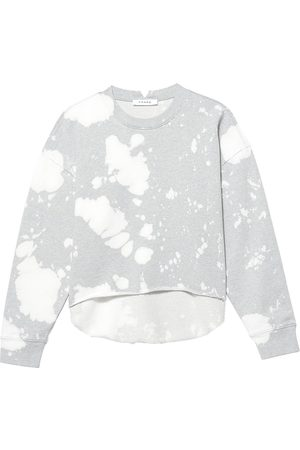 Frame Women's Easy Bleached Sweatshirt - Gris Heather - Size Small
