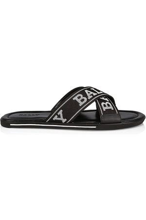 Bally Men's Logo Slide Sandals - - Size 12
