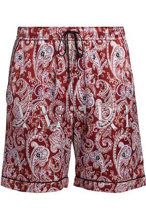 AMIRI Men's Paisley Pajama Shorts - - Size Small