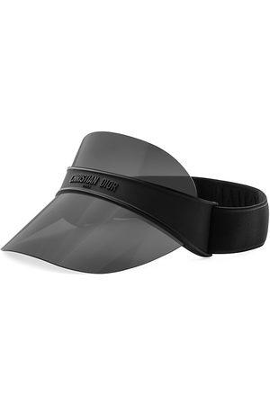Dior Men's Club V1U Oblique Visor - Matte Smoke