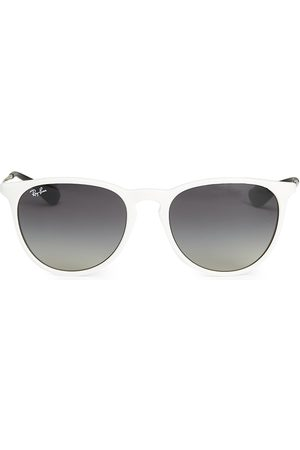 Ray-Ban Women's RB4171 54MM Erika Round Sunglasses - Transparent Light