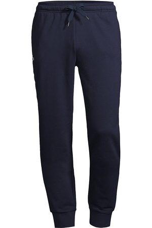 Lacoste Men's Sport Fleece Track Pants - Navy - Size Medium