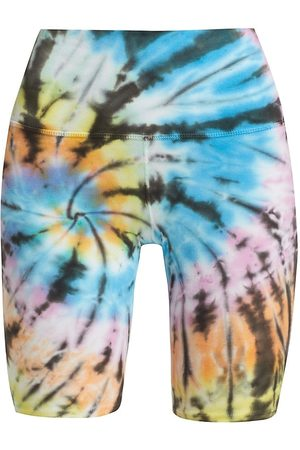 Electric & Rose Women's Medano Hand-Dyed Biker Shorts - Love Multi - Size Small