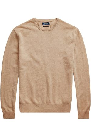 Polo Ralph Lauren Men's Cashmere Crewneck Sweater - Camel Melange - Size XXL