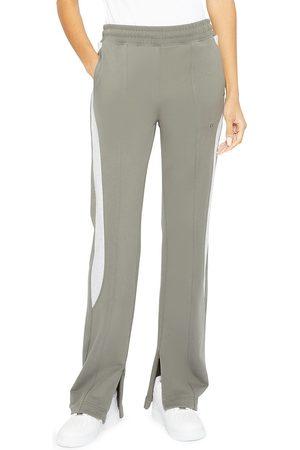 Helmut Lang Women's Colorblocked Seamed Sweatpants - Slate - Size XS