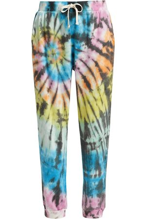 Electric & Rose Women's Harbor Hand-Dyed Sweatpants - Love Multi - Size Small