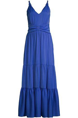 Kobi Halperin Women's Remy Sleeveless Maxi Dress - Ocean - Size 14