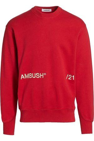 AMBUSH Men's Embroidered Logo Sweatshirt - Off - Size Medium