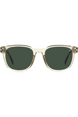 David beckham Men's 52MM Square Sunglasses - Champagne
