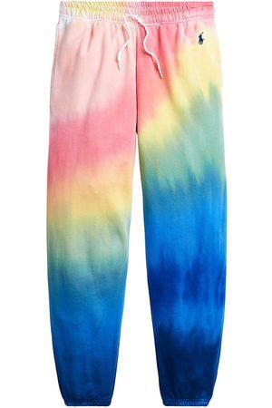 Polo Ralph Lauren Women's Rainbow Athletic Joggers - Tie Dye - Size Medium