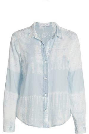 Bella Dahl Women's Tie-Dye Button-Down Shirt - Oasis Tie Dye - Size Small
