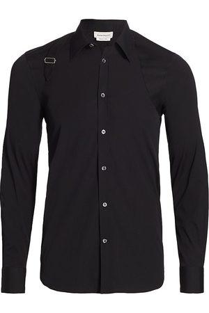 Alexander McQueen Men's Shoulder Harness Sport Shirt - - Size 17