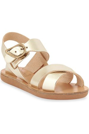 Ancient Greek Sandals Baby's, Little Girl's & Girl's Little Electra Metallic Leather Sandals