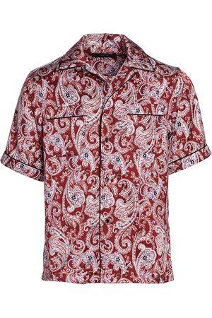 AMIRI Men's Paisley Pajama Shirt - - Size Large