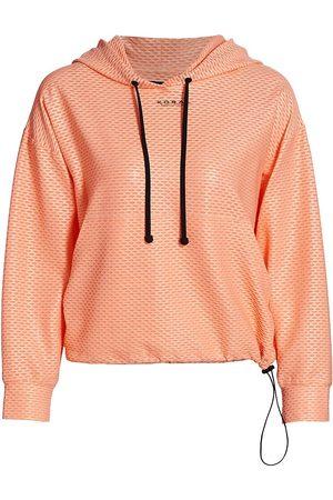 Koral Women's Friley Netz Sweatshirt - Pompano - Size XS