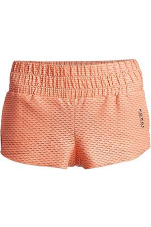 Koral Women's Radiant Netz Shorts - Pompano - Size Medium