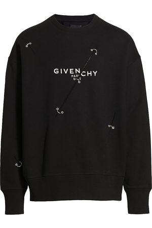 Givenchy Men's Logo Trompe L'Oeil Sweatshirt - - Size XXL