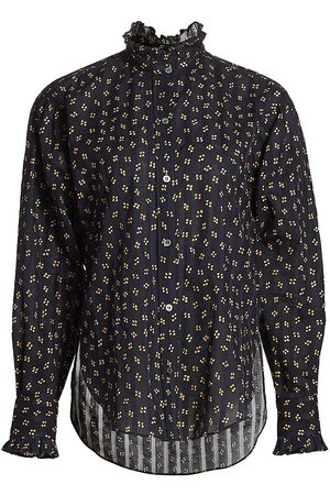 Isabel Marant Women's Saou High-Low Blouse - - Size 4