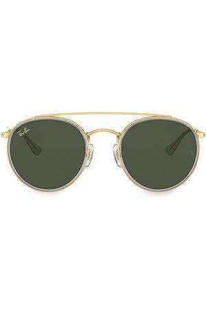 Ray-Ban 51MM ITA Phantos Sunglasses - Shiny