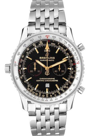 Breitling Stainless Steel Chronomatic Limited Edition A41350 Men's Wristwatch 41 MM