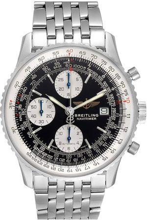 Breitling Stainless Steel Navitimer II Chronograph A13322 Men's Wristwatch 42 MM