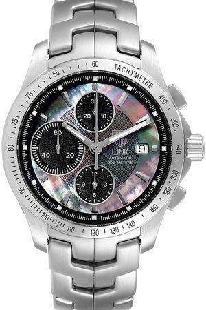 Tag Heuer Men Watches - MOP Stainless Steel Link Ayrton Senna CJF211K Men's Wristwatch 42 MM