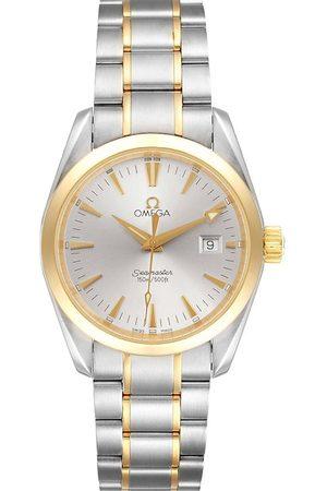 Omega Men Watches - Stainless Steel Seamaster Aqua Terra Yellow Gold 2318.30.00 Men's Wristwatch 36 MM
