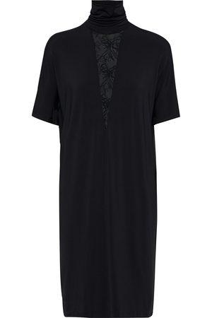 La Perla Woman Alida Leavers Lace-trimmed Jersey Turtleneck Nightdress Size 2