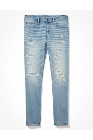 American Eagle Outfitters AirFlex 360 Patched Slim Jean Men's 28 X 28