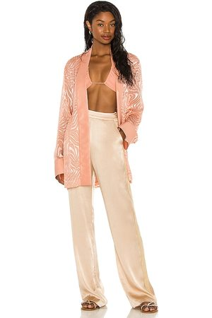 Tell Your Friends Kimono in Rose.