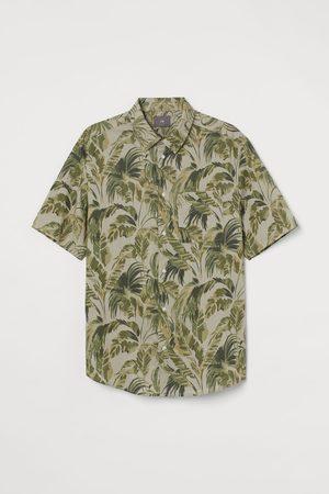 H&M Men Short sleeves - Regular Fit Cotton Shirt