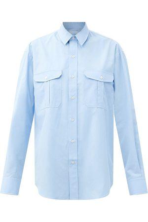 WARDROBE.NYC Release 03 oversized cotton-poplin shirt