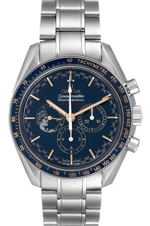 Omega Stainless Steel Speedmaster Apollo 17 LE Moonwatch 311.30.42.30.03.001 Men's Wristwatch 42 MM