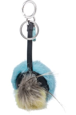Fendi Bugs Eye Mink & Fox Fur Keyring/ Bag Charm