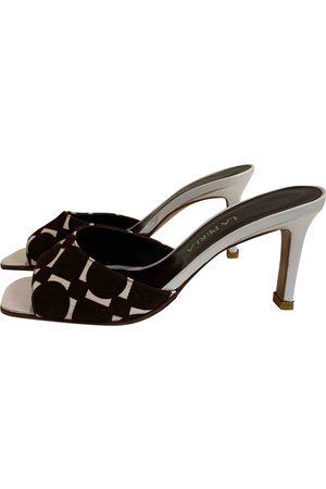 La Perla Cloth Sandals