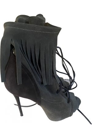 Giuseppe Zanotti Women Ankle Boots - Suede Ankle Boots