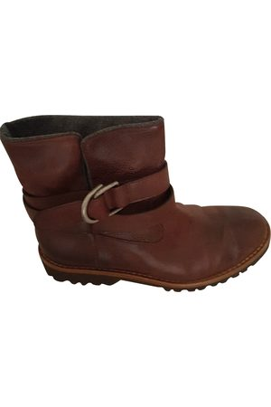 Brunello Cucinelli Women Ankle Boots - Leather Ankle Boots