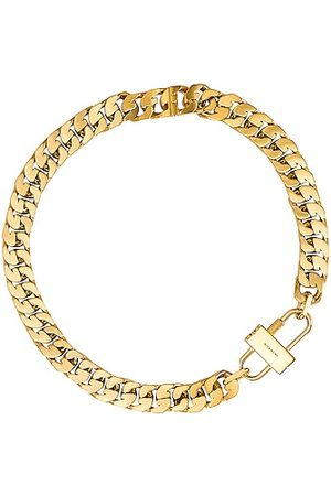 Givenchy G Chain Lock Small Necklace in Metallic