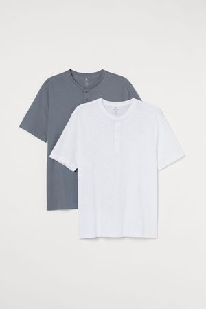 H&M 2-pack Henley Shirts