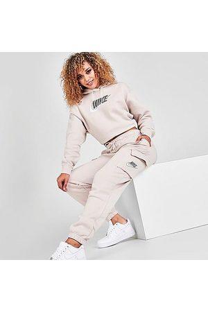 Nike Women's Sportswear Emea Fleece Cargo Jogger Pants Size X-Small